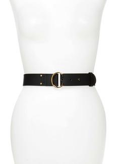 Chloé C-Buckle Leather Belt