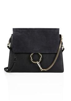 Chloé Medium Faye Leather & Suede Bag