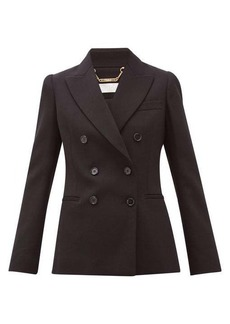 Chloé Festive double-breasted wool-blend blazer