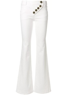 Chloé flared jeans - White