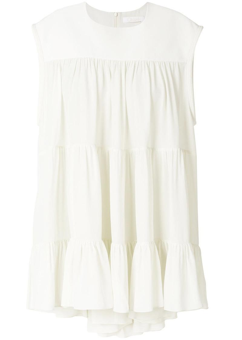 Chloé flared style dress