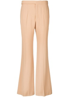 Chloé flared trousers - Nude & Neutrals