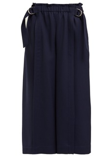 Chloé Fluid wool-garbardine trousers