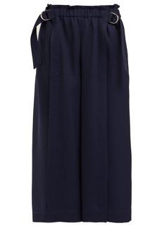 Chloé Fluid wool-garbardine trousers