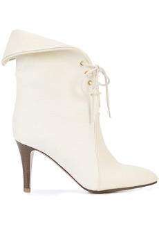 Chloé foldover top ankle boots