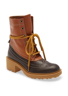 Chloé Franne Lace-Up Boot