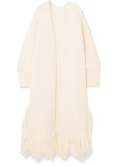Chloé Fringed wool cardigan