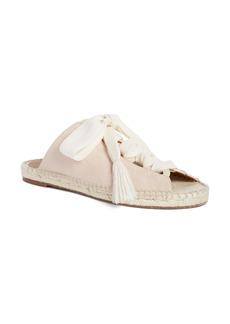 Chloé Harper Lace-Up Espadrille Slide Sandal (Women)