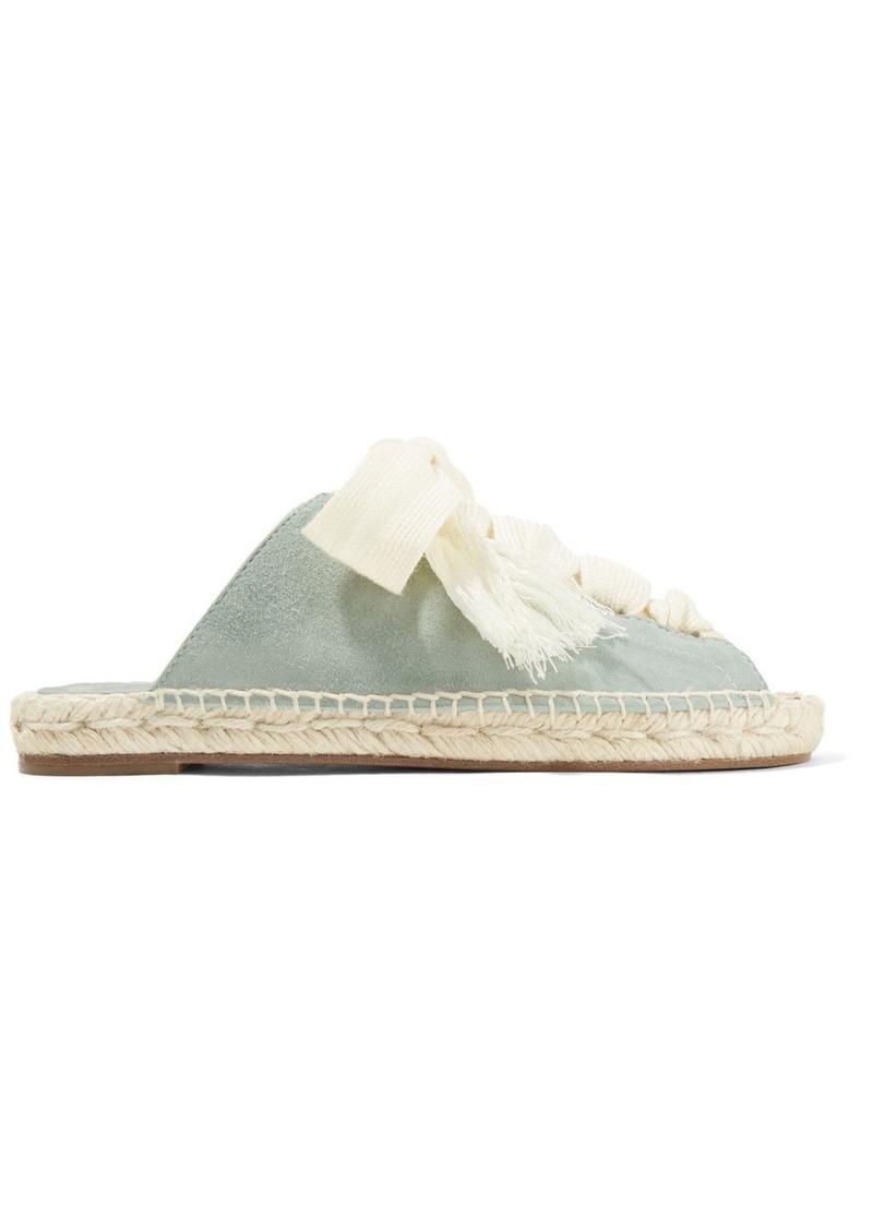 3b0ec9b8f95 Chloé Harper lace-up suede sandals