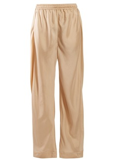 Chloé High-rise straight-leg twill trousers