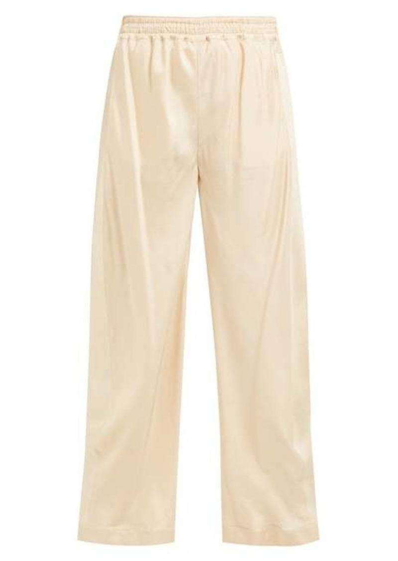 Chloé High-rise straight-leg twill trousers