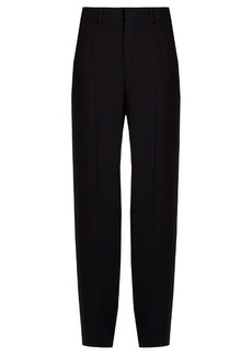 Chloé High-rise wide-leg cady trousers