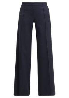 Chloé High-rise wide-leg wool trousers