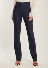 Chloé High-waist cady trousers