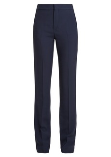 Chloé High-waist cady trousers