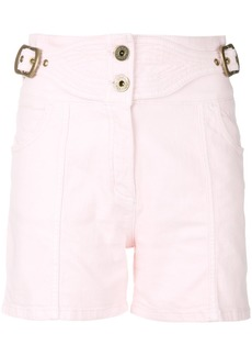 Chloé high-waisted shorts - Pink & Purple