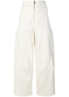 Chloé high waisted trousers - White