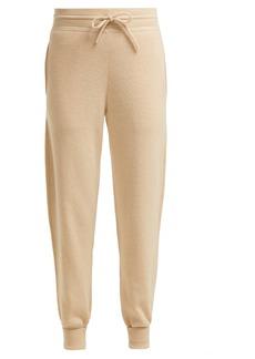 Chloé Iconic logo-intarsia cashmere track pants