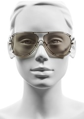 Chloé 'Isidora' 61mm Aviator Sunglasses