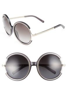 Chloé Jayme 58mm Round Sunglasses