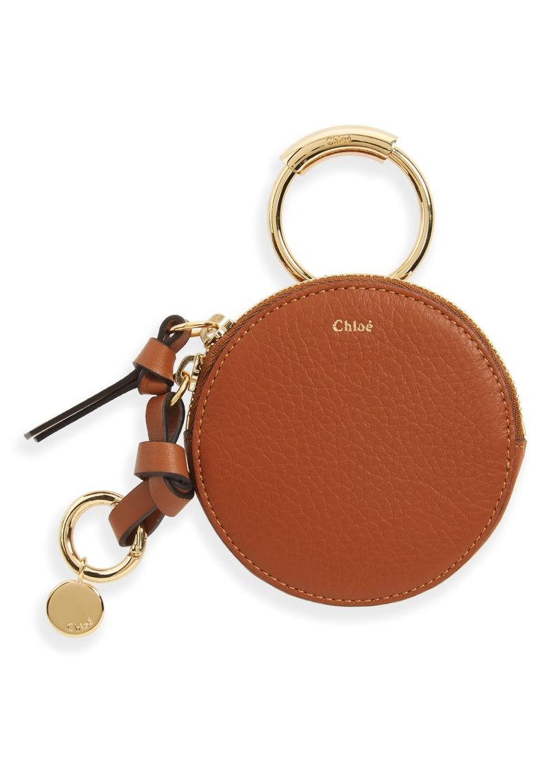 6f39e6c9806 Chloé Chloé Key Ring   Leather Pouch