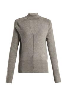 Chloé Keyhole wool-blend sweater