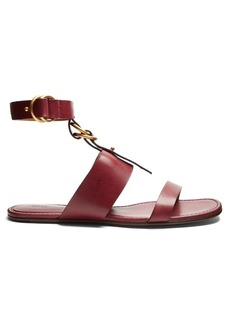 Chloé Kingsley leather flat sandals