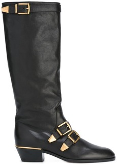 Chloé knee-high boots - Black