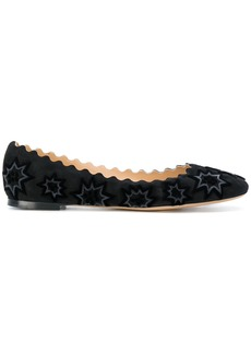 Chloé Lauren ballerinas - Black