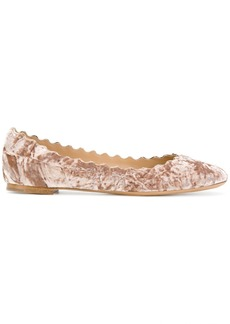 Chloé Lauren ballerinas - Pink & Purple