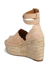 Chloé Lauren Espadrille Wedge Sandal (Women)