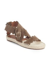 Chloé Lauren Strappy Scalloped Sandal (Women)