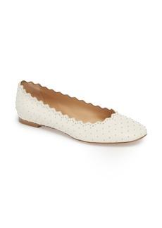 Chloé Lauren Studded Ballet Flat (Women)