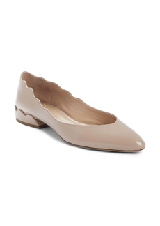 Chloé Laurena Scalloped Flat (Women)