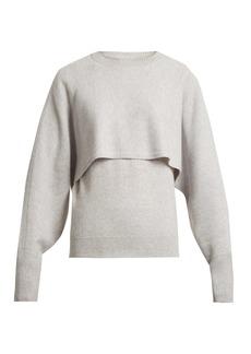 Chloé Layer crew-neck cashmere sweater