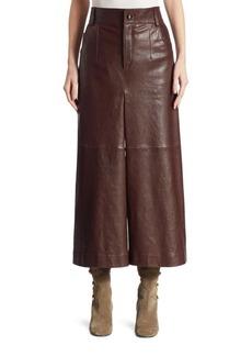Chloé Leather Culottes