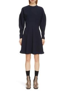 Chloé Leg of Mutton Long Sleeve Dress