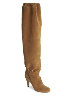 Chloé Lena Suede Over-The-Knee Boots