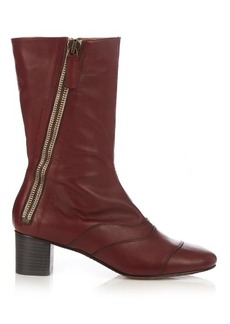 Chloé Lexie leather ankle boots
