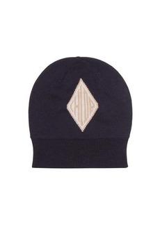Chloé Logo-jacquard wool beanie hat