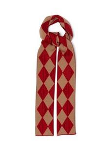 Chloé Logo-jacquard wool scarf