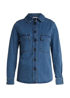 Chloé Long-sleeved denim shirt