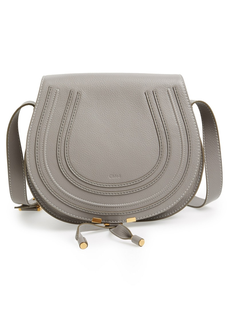 3b2ad67074b Chloé Chloé  Marcie - Medium  Leather Crossbody Bag