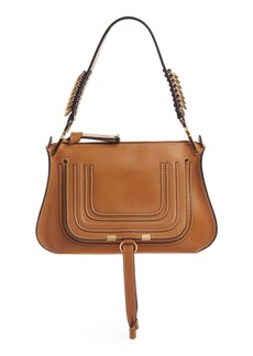 Chloé Marcie Leather Top Handle Bag