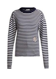 Chloé Marinière striped cashmere sweater