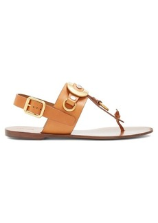Chloé Marley leather sandals