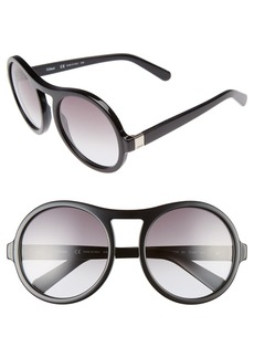 Chloé Marlow 57mm Round Sunglasses