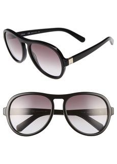 Chloé Marlow 59mm Oversized Sunglasses