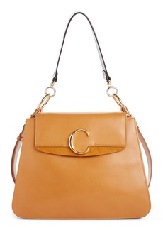 Chloé Medium C Leather Shoulder Bag