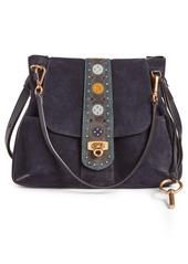 Chloé Medium Lexa Suede Shoulder Bag